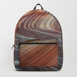 Paria Wilderness: The Wave with Light Blue Sandstone Backpack