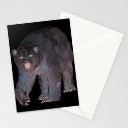 Geometric Polar Bear Stationery Cards