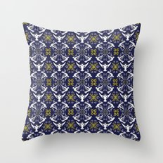 Doves Patterns Throw Pillow