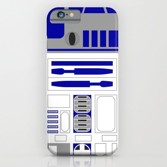 Star Wars R2D2 Vector iPhone & iPod Case