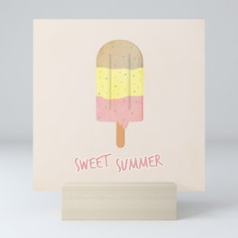 Summer Ice Cream Mini Art Print