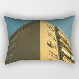 Corner building Rectangular Pillow
