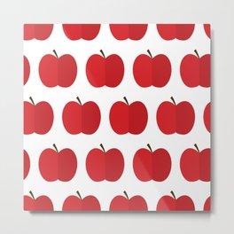 Apple party Metal Print