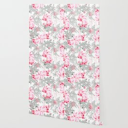 PINK ORCHIDS IN SPRING BLOOM Wallpaper