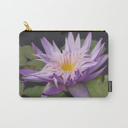 Rosy lavender water lily Carry-All Pouch