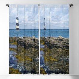 Penmon Lighthouse Blackout Curtain