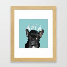 Miss Asia Framed Art Print