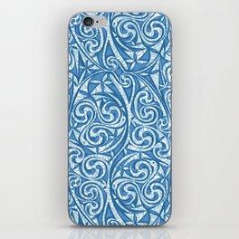 Celtic Warrior woad iPhone Skin