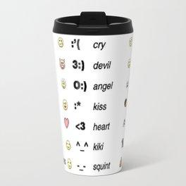 Emoji's for fun Fashion! Travel Mug