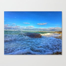 Bay Wave Canvas Print