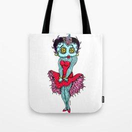 Monster Boop Tote Bag