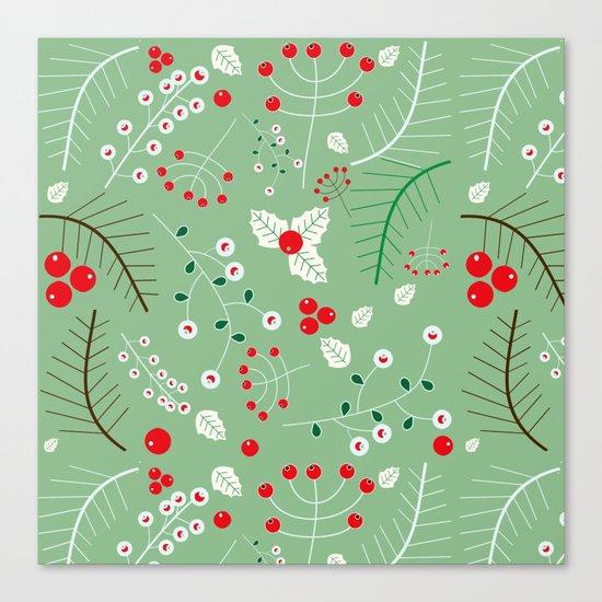 Mistletoe green Canvas Print
