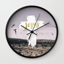 JESUS | EASTER | CROSS Wall Clock
