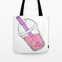 Boba Tea Pugs Tote Bag