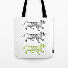 Three Tigers Tote Bag