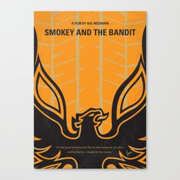 No398 My smokey and the bandits Canvas Print