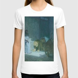Henry Ossawa Tanner - Daniel in the Lions' Den T-shirt
