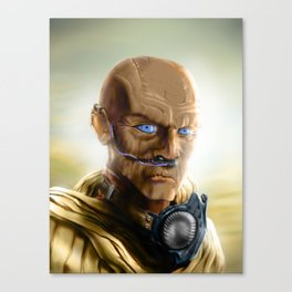 Fremen Warrior - Dune Canvas Print