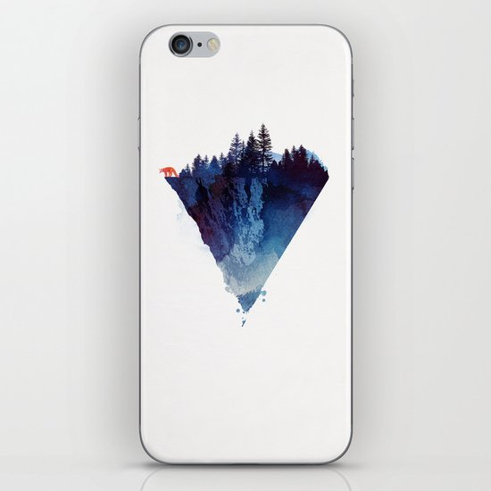 Near to the edge iPhone & iPod Skin