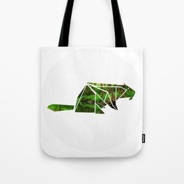 Forest Beaver Tote Bag
