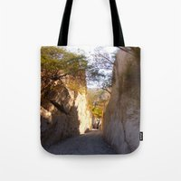 mexican Tote Bags featuring Mexican desert by lennyfdzz