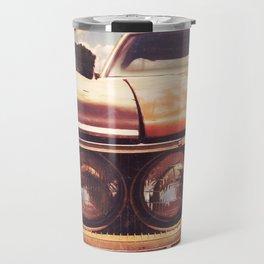 Rusty And Blue - America As Album Art Travel Mug