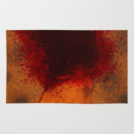 A Woman in Rage Rug