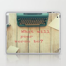 What will your verse be? Laptop & iPad Skin