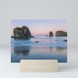 Oregon Coast Dawn Mini Art Print