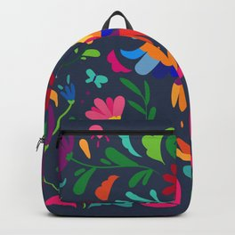 folklore, vibrant, simplicity Backpack