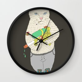 Colonel Surge Wall Clock