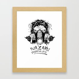 IWAZARU:SpeakNoEvil Framed Art Print