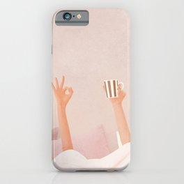Morning Coffee II iPhone Case