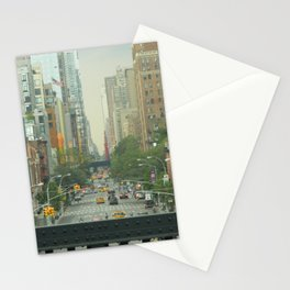 New York City - Down The Avenue Stationery Cards