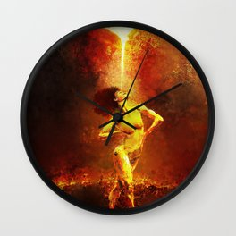 Forged Not Fabricated Wall Clock