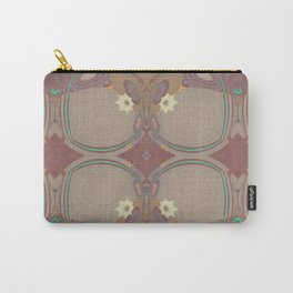 Pallid Minty Pattern 1 Carry-All Pouch