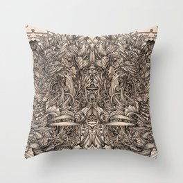 Nautical Spray Throw Pillow