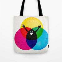 child Tote Bags featuring Nobody's child by Robert Farkas