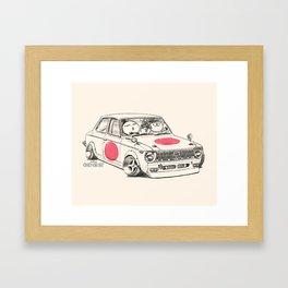 Crazy Car Art 0168 Framed Art Print