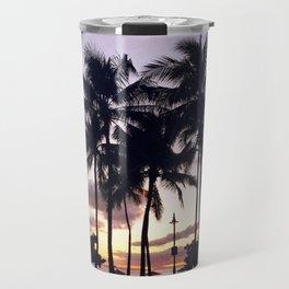 Waikiki Sunset Travel Mug