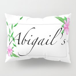 Names.Personalised gift ideas Pillow Sham