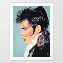 Adam Ant Art Print