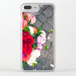 Urban Flowers Clear iPhone Case