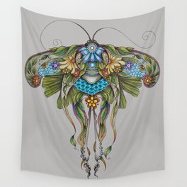 Botanical Butterfly No. 1 Wall Tapestry