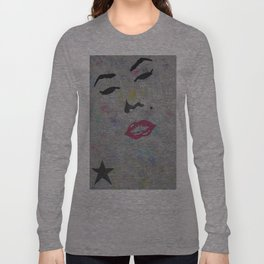 The star Marilyn Monroe Long Sleeve T-shirt