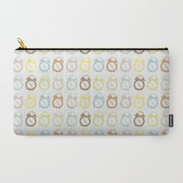 clocks pattern Carry-All Pouch