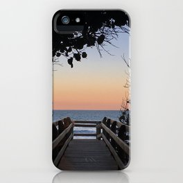 Evening stroll, anyone? iPhone Case