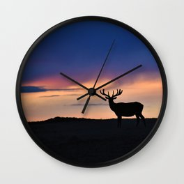 Sunset Beauty Wall Clock
