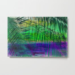 Tropical Lagoon Metal Print
