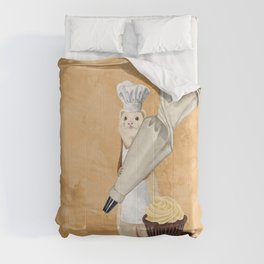 Ferret and Frosting Comforters